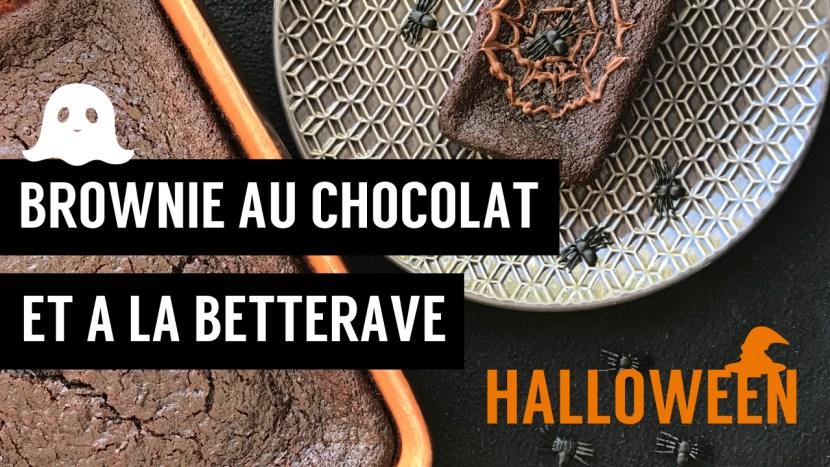 brownie au chocolat et a la betterave - recettes végétariennes et vegan - atirelarigot