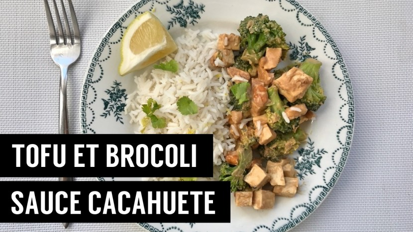 tofu et brocoli - recettes végétariennes et vegan - atirelarigot