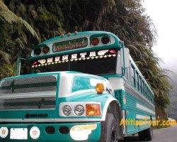 Chicken Bus Guatemala, hilarious!