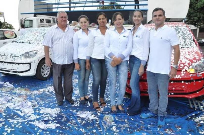 Equipe da CDL que atuaram na campanha.