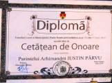 ceremonie_titlu_cetatean de onoare Parintele Justin- Piatra Neamt2