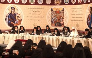 Patriarchs sat at the opening session of the Holy and Great Council in Crete / Sinaxa Clericilor si a Monahilor Ortodocsi din Volos - impotriva Sinodului din Creta