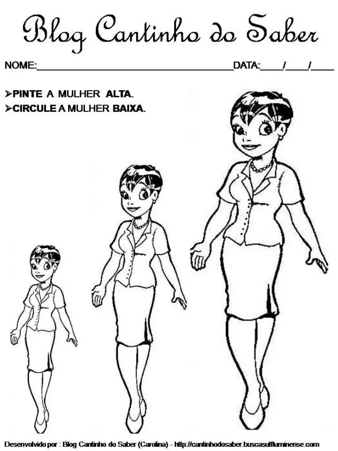 atividade dia da mulher para imprimir desenho para colorir e