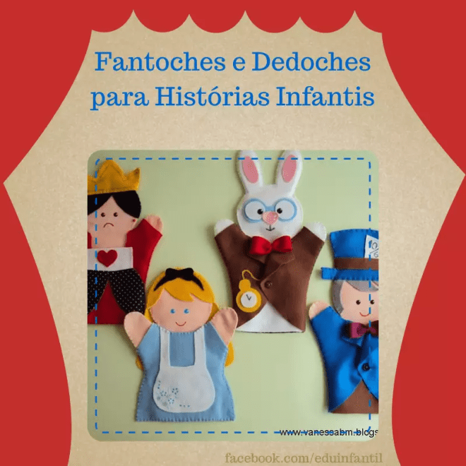 fantoches para historias infantis
