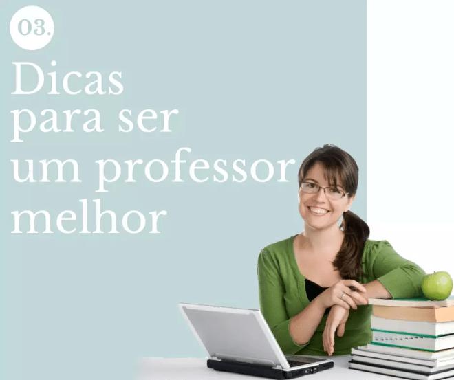 Dicas para ser um professor melhor