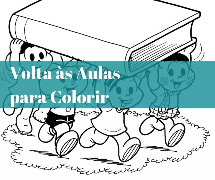 Volta As Aulas Para Colorir Atividades Para Educacao Infantil