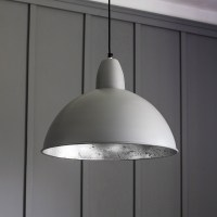 Contemporary Ceiling Pendant Light in Grey