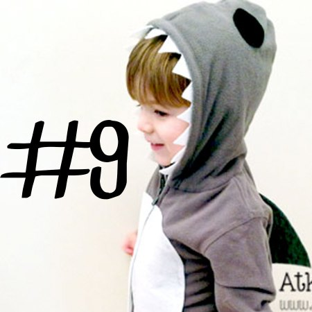 No-Sew Shark Costume | Atkinson Drive
