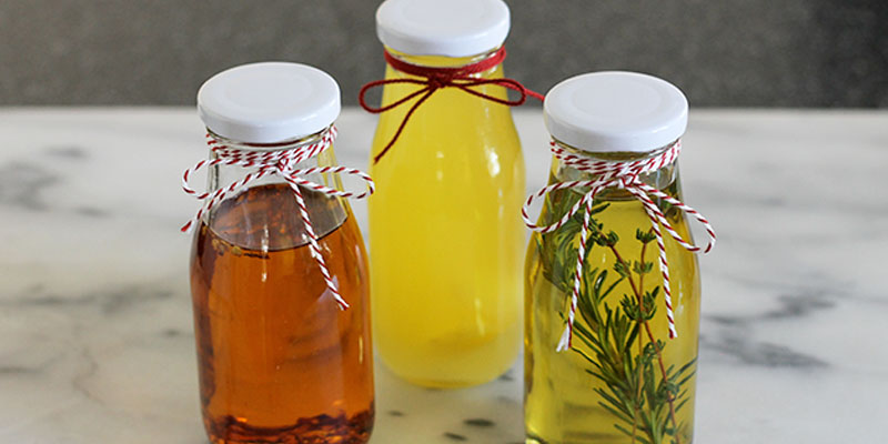 DIY Flavored Cooking Oils