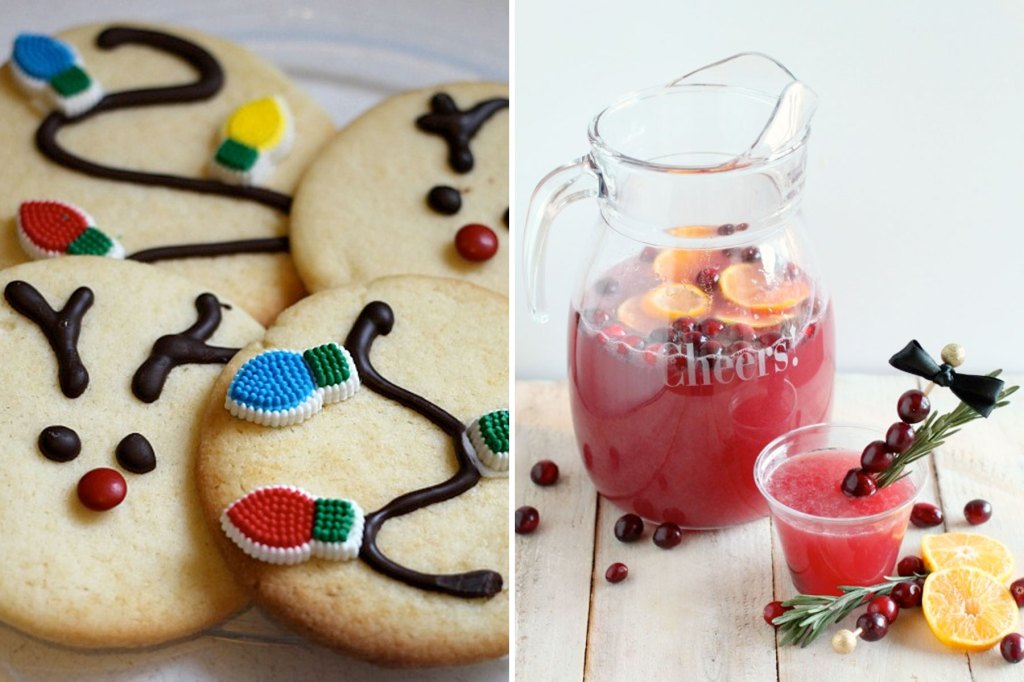 Bring some holiday sparkle to your friends and family with these festive Christmas treats!