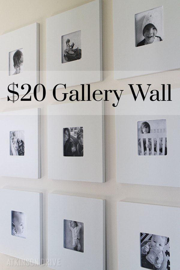 Black Frame Gallery Wall - Vtwctr