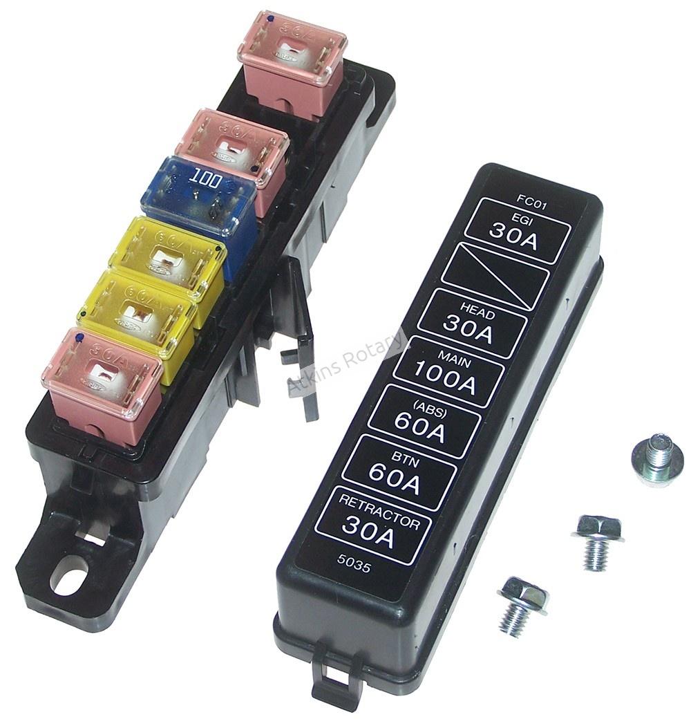 medium resolution of 89 92 rx7 fuse box lid fuses fc01 66 760 rh atkinsrotary com fd rx7 fuse