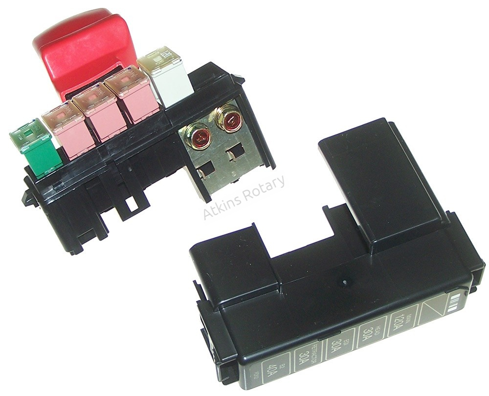 hight resolution of 93 95 rx7 fuse box lid positive battery terminal fd02 66 760c