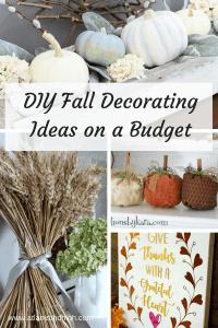 DIY Fall Decorating Ideas On A Budget