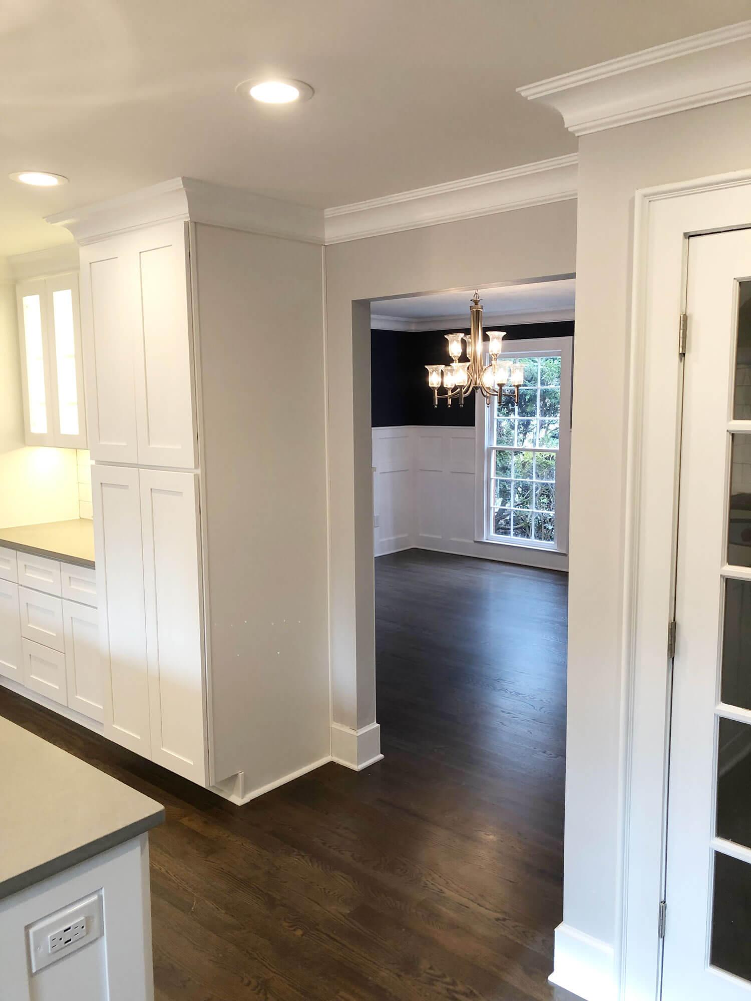 Open Concept Kitchen and Living area remodel Atlanta Georgia