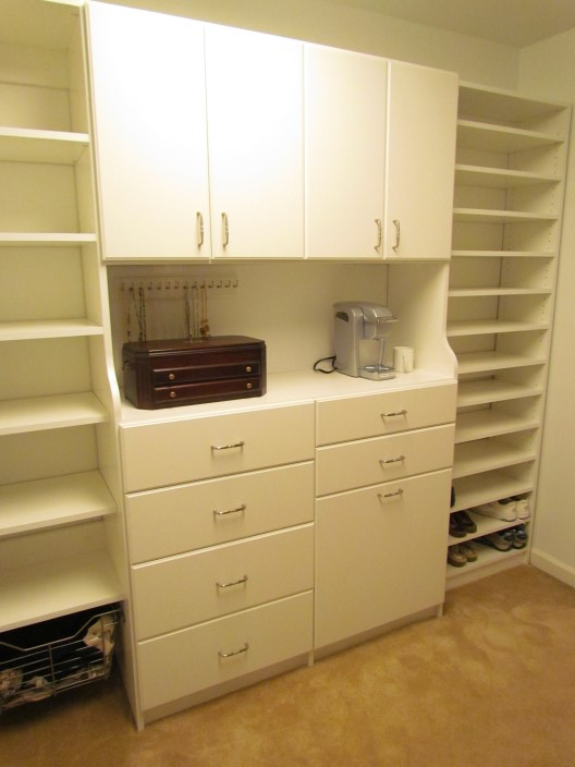 Atlanta Closet  Storage Solutions Slab Fronts
