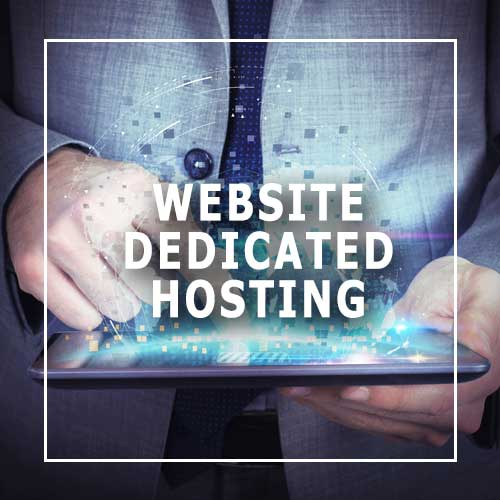 Dedicated website hosting for dentist