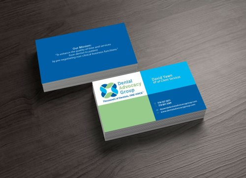 dental office business cards