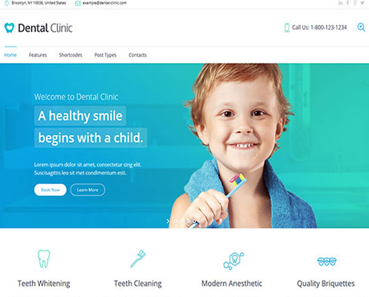 dentist-website-design