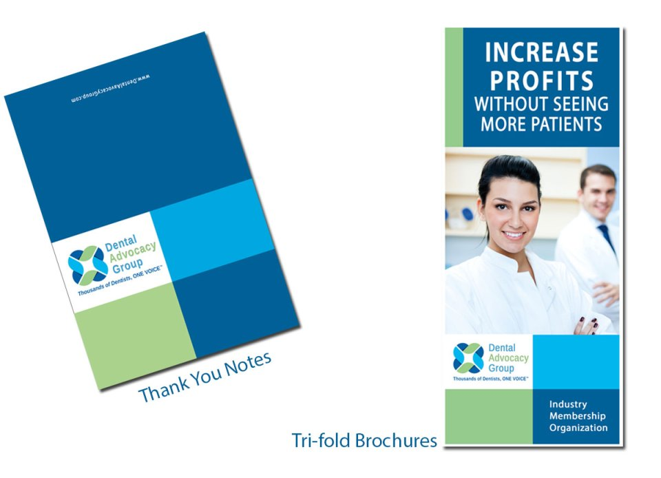marketing package business cards brochures