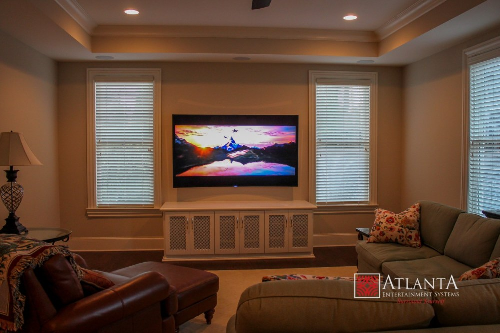 medium resolution of home theater systems installation for family room solutions servicing atlanta griffin mcdonough fayetteville marietta peachtree city