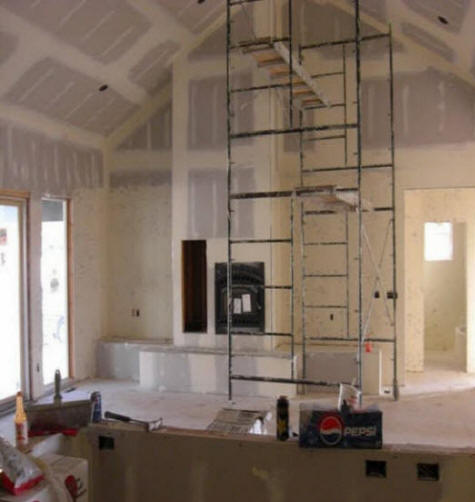 Atlanta GA Fireplace Reface  We do it all Low Cost  Remodel Install Tile Overlay Brick