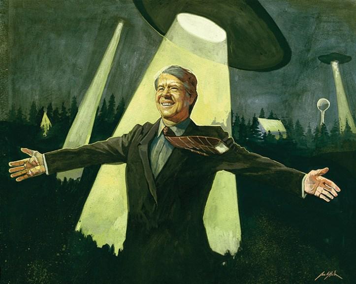 Resultado de imagen para jimmy carter ufo