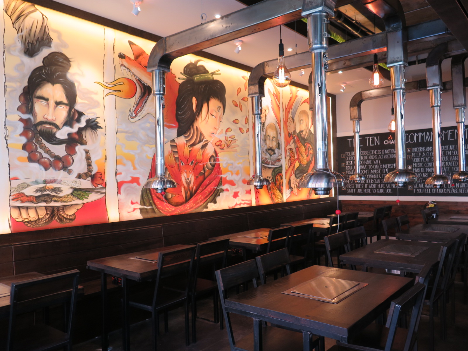 CHAR Korean Bar  Grill brings Korean barbecue ITP with a whimsical twist Check out the menu