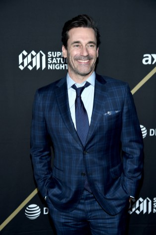 ATLANTA, GA - FEBRUARY 02: Jon Hamm attends DIRECTV Super Saturday Night 2019 at Atlantic Station on February 2, 2019 in Atlanta, Georgia. (Photo by Dimitrios Kambouris/Getty Images for DIRECTV)