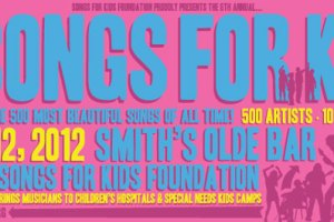 Tonight's Lineup For 500 Songs For Kids @ Smith's Olde Bar Announced!