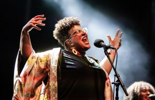 ATLANTA, GEORGIA - OCTOBER 13: Brittany Howard performs during day 2 of AFROPUNK Music Festival at Atlanta 787 WINDSOR on October 13, 2019 in Atlanta, Georgia. Photo: Ryan Fleisher/imageSPACE