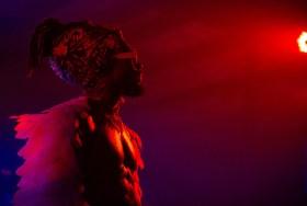 ATLANTA, GEORGIA - OCTOBER 12: EARTHGANG performs during day 1 of AFROPUNK Music Festival at Atlanta 787 WINDSOR on October 12, 2019 in Atlanta, Georgia. Photo: Ryan Fleisher/imageSPACE
