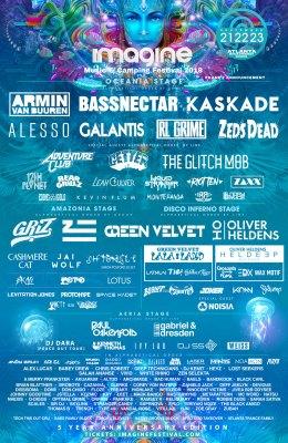 Imagine Music Festival 2018 Schedule Line Up