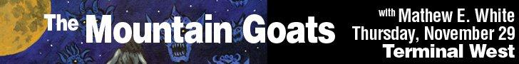 Mountain Goats ad