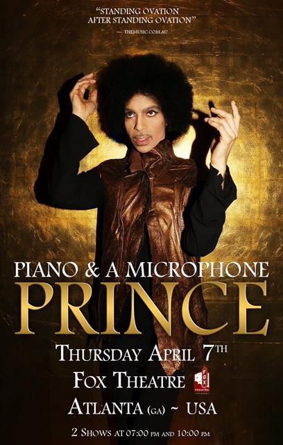 Prince Atlanta Fox Theatre