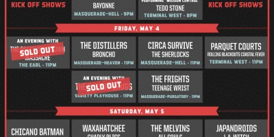 Shaky Knees Late Night Shows