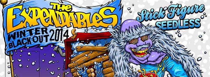 The Expendables Winter Blackout Tour 2014