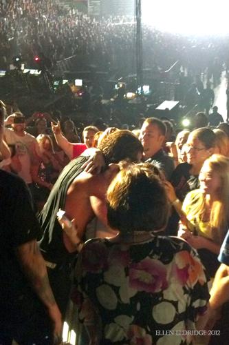 Gavin Rossdale in Crowd