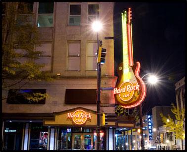 Hard Rock Cafe Velvet Underground Atlanta