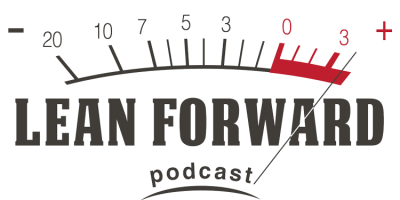 Lean Forward Podcast Logo
