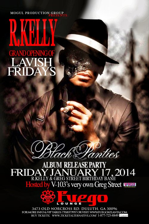 R  Kelly's Album Release Party @ Fuego Lounge, January 17