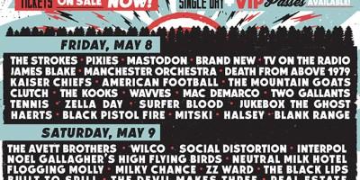 Shaky Knees Schedule
