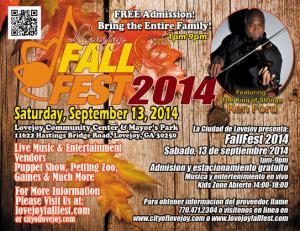 lovejoy fall fest 2014