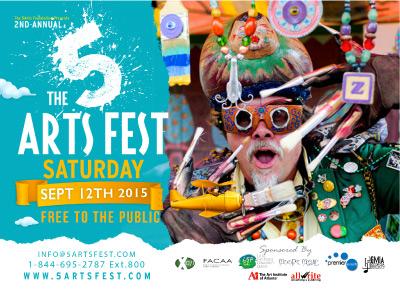5 arts fest 2015