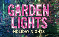 garden lights, holiday nights discounts