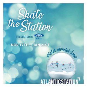 ice skating at atlantic station