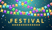 Peachtree corners festival banner