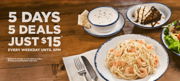 red lobster specials today
