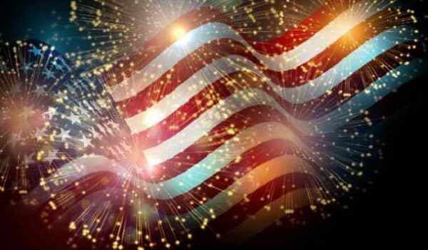 patriotic, flag, fireworks, 4th of July, Fourth, Memorial Day, Flag Day, Veterans Day,