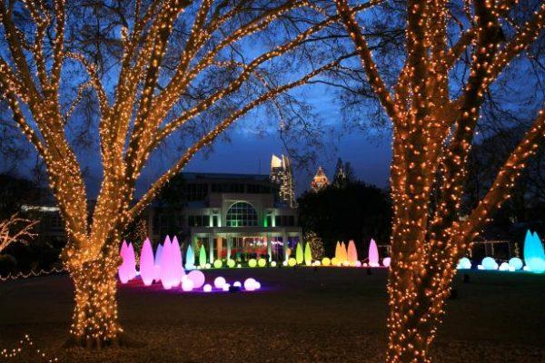 Life University Christmas Lights 2020 Garden Lights, Holiday Nights at the Atlanta Botanical Garden